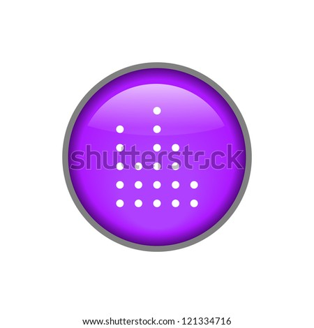 Sound Button Vector Icon, EPS10