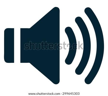 Sound Icon, Vector Illustration.