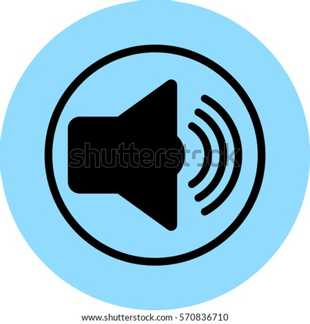sound vector icon, music icon