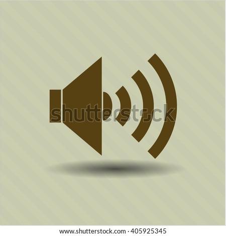 Sound vector symbol