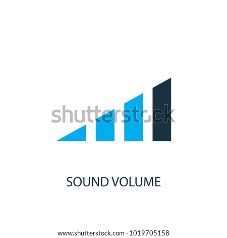Sound volume icon.
