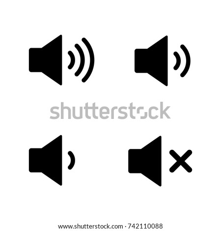 Sound volume icon