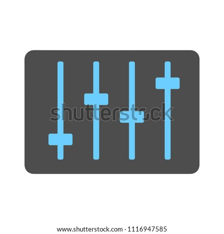 sound volume wave illustration - vector audio voice bar - frequency equalizer isolated