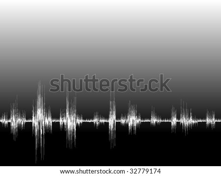 Sound Wave - stock vector
