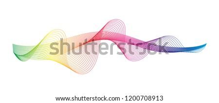 sound wave rhythm abstract