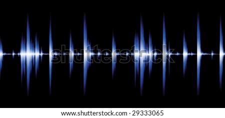 Sound wave sample (easily editable file)