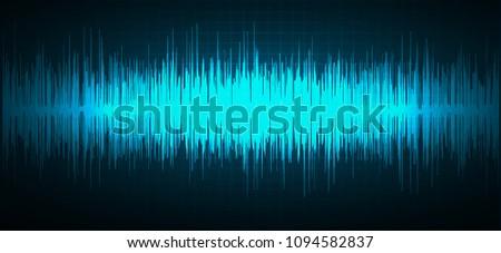 sound waves oscillating dark