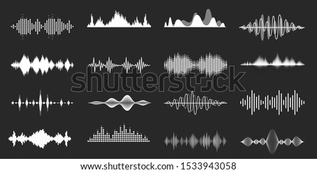 sound waves playing song