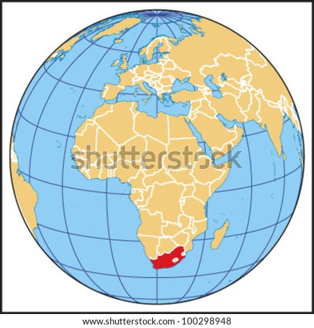 South Africa Locate Map