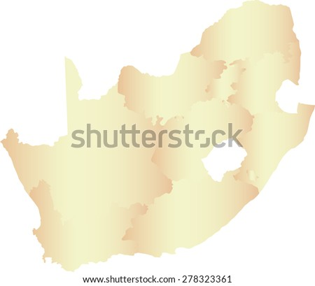 South Africa Map Outline South Africa Map Outlines With