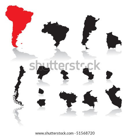 South America countries