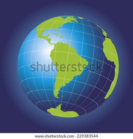 south america map antarctica