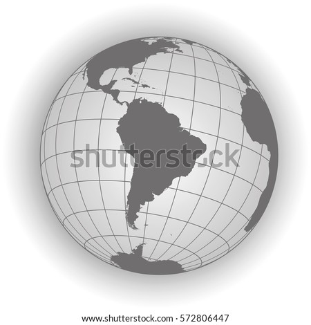 south america map antarctica