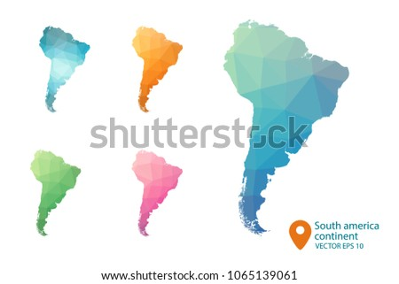 Venezuela map vector free vector art at vecteezy south america map set of geometric rumpled triangular low poly style gradient graphic background gumiabroncs Image collections
