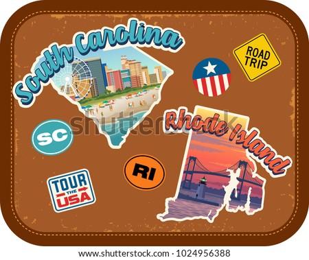 south carolina  rhode island...