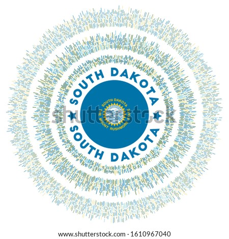 south dakota symbol radiant us