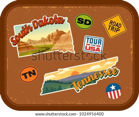 south dakota  tennessee travel...