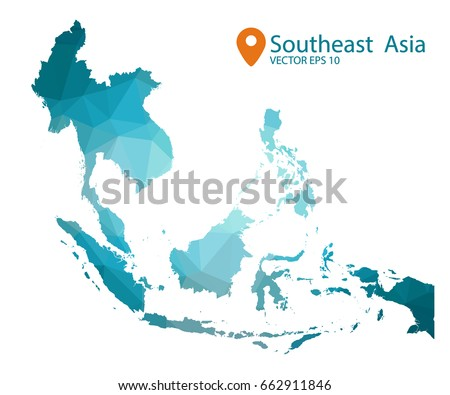 Southeast Asia Map Free Vector Art - (22 Free Downloads)