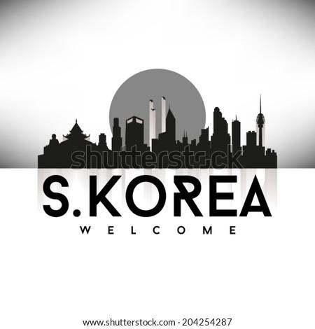south korea  skyline design