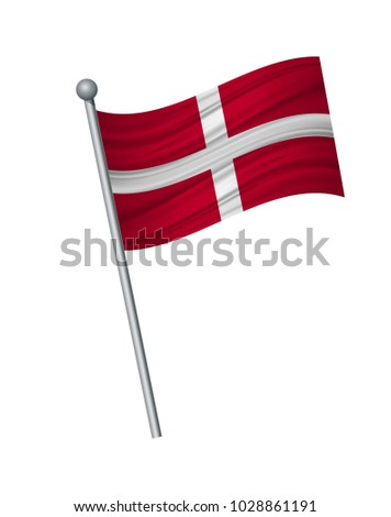 sovereign military flag on the
