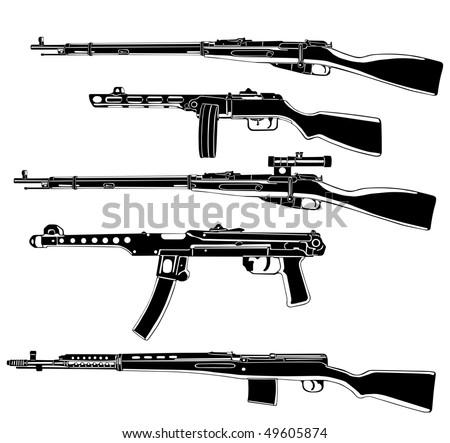 Soviet guns