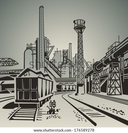 soviet industrial landscape