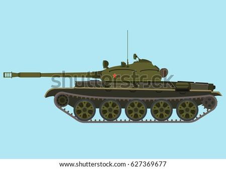 soviet medium green tank t 62a