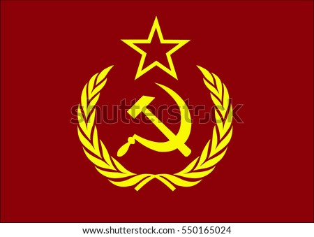 Communist Hammer And Sickle Icon Download Free Vector Art Stock
