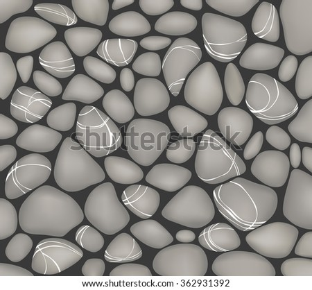 spa background with rocks