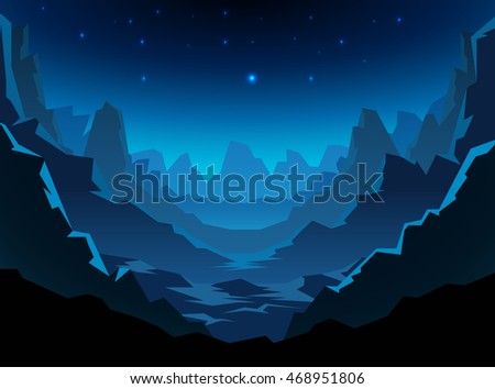 Stock Photo space alien landscape