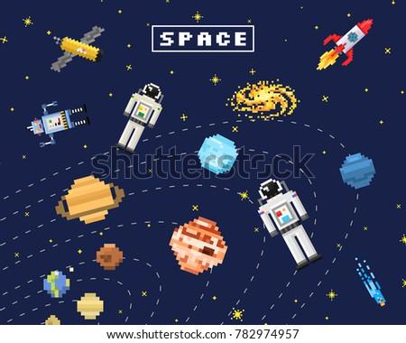 space background  alien