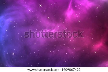 space background bright purple