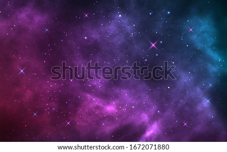 space background realistic