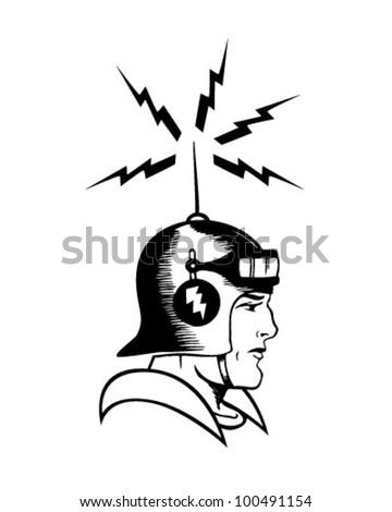 Space Cadet - Retro Clipart Illustration