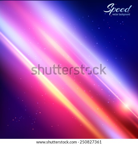 space colorful vector