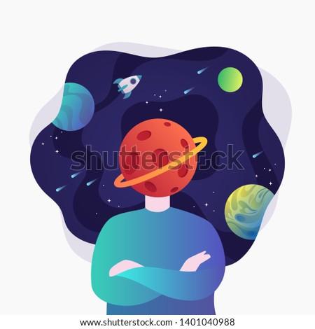 space fantasy vector