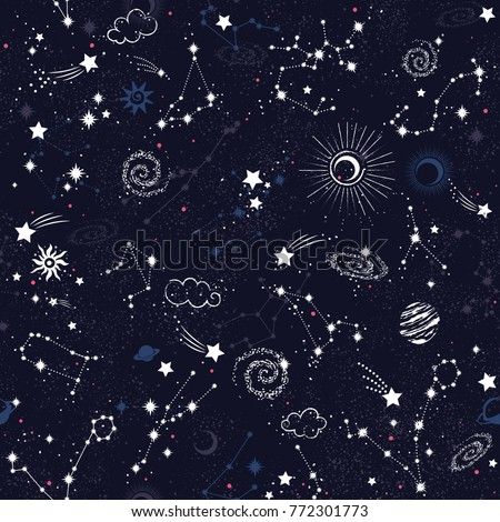space galaxy constellation...
