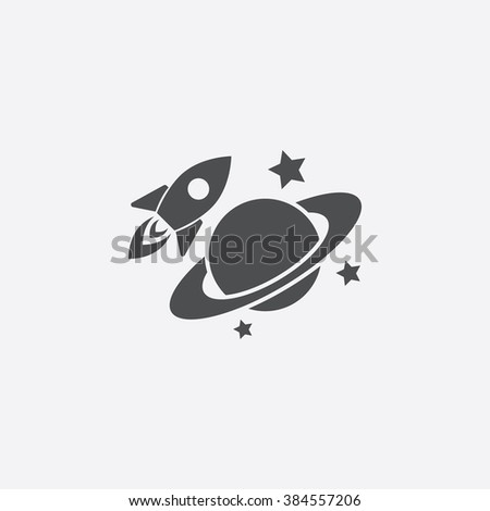 space icon space icon vector