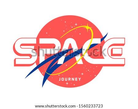 space journey slogan t shirt
