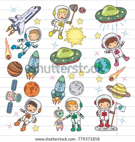 space kindergarten  school