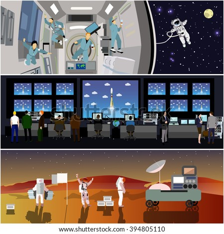 space mission control center