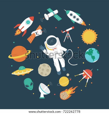 space objects astronaut