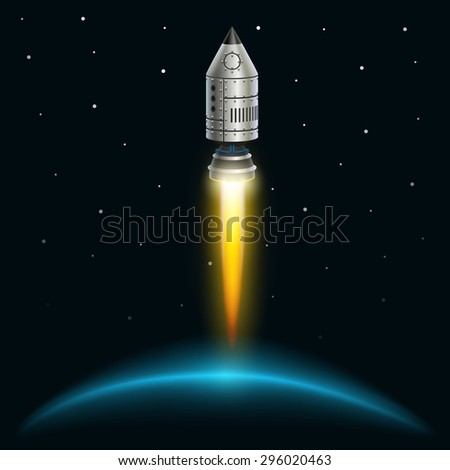 space rocket launch  rocket
