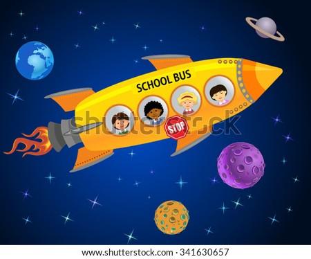 space school bus