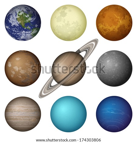 space set of isolated planets