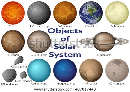 space set planets solar system