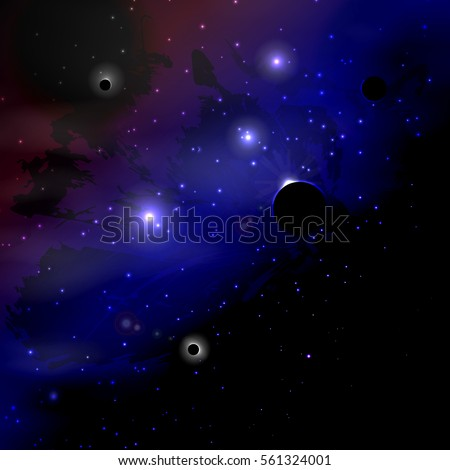 space stars and nebulae