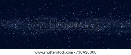 space stars background light