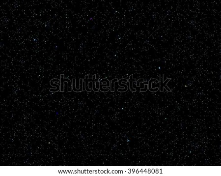 space stars vector background