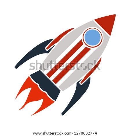 spacecraft icon-spaceship illustration-spacecraft symbol-science sign